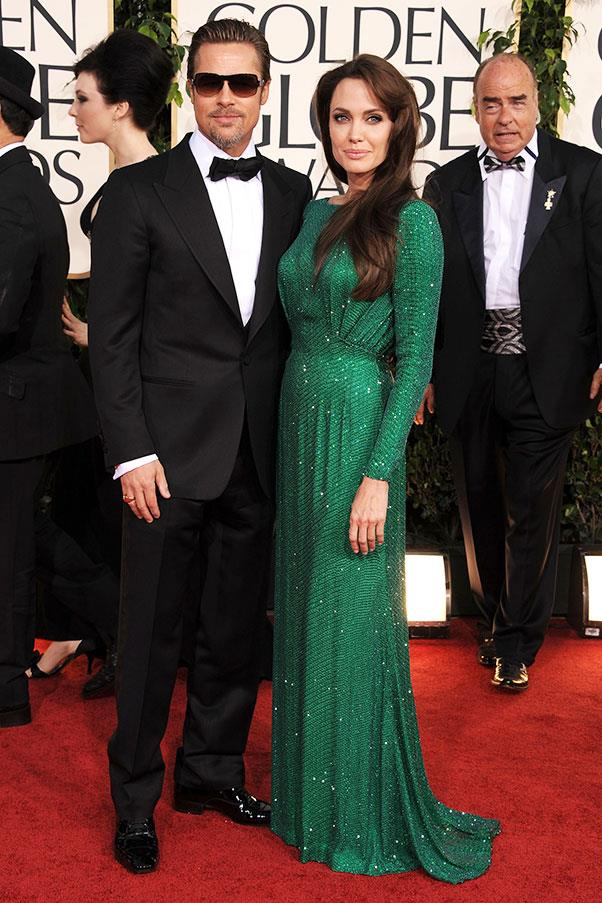 At the Golden Globes, 2011.
