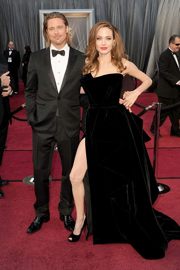 At the Academy Awards, 2012.