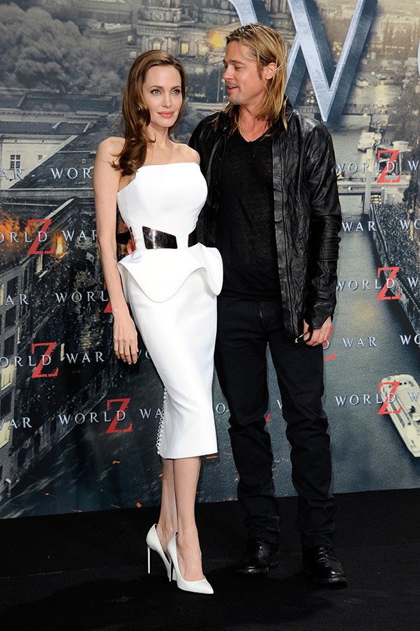 At the German premiere of <em>World War Z</em>, 2013.