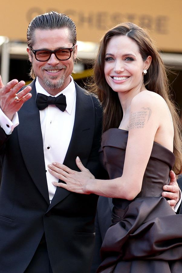 """<strong>Brad Pitt and Angelina Jolie's entire relationship was a """"sham"""", according to biographer</strong><br><br> Yes, this is totally ridiculous, but today long-time Jolie-Pitt biographer Ian Halperin <a href=""""http://www.news.com.au/entertainment/celebrity-life/hook-ups-break-ups/brad-pitt-and-angelina-jolies-marriage-was-a-complete-sham-author-claims/news-story/7a371221f41f953041887ab7bc52b218"""">told</a> <em>Sunrise</em> and <em>Today Extra</em> that after years profiling the couple and more than 1,000 interviews with people close to Jolie-Pitts, he's concluded that the pair's relationship is nothing but a publicity stunt to boost their respective careers. """"They wanted to create a brand bigger than any couple we have seen in Hollywood, to generate million and millions of dollars in revenue,"""". <br><br> Considering the pair are notoriously private, and haven't courted the media in any way during their 12-year relationship (except for when <a href=""""http://www.bustle.com/articles/38169-angelina-jolie-brad-pitt-wedding-photo-cash-will-go-to-charity-so-how-much-did"""">they donated</a> million-dollar tabloid payments to charity, that is), we're calling BS on this from the outset."""
