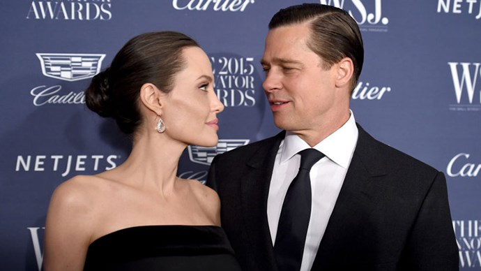 """<strong>Brad Pitt was 'blindsided' by divorce</strong><br><br> Reports yesterday <a href=""""http://www.harpersbazaar.com.au/news/celebrity-tracker/2016/9/brad-pitt-only-found-out-that-angelina-jolie-was-divorcing-him-yesterday/"""">suggested</a> Brad Pitt only found out about his divorce the same day as the rest of the world."""