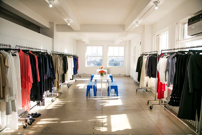 "<strong>Harper's BAZAAR: Why did you set up a showroom in the Big Apple? </strong> <br><br> Dion Lee: <em>""New York inspires and energises me so it was a personal decision as much as it was a business decision to set up the studio in Tribeca. After showing for several seasons on the <a href=""http://www.harpersbazaar.com.au/runway-report/street-style/2016/9/street-style-new-york-fashion-week-spring-2016-day-8/"">NYFW </a>schedule, the city became a second base for the brand and it made sense for us to have more of a presence here.""</em>"