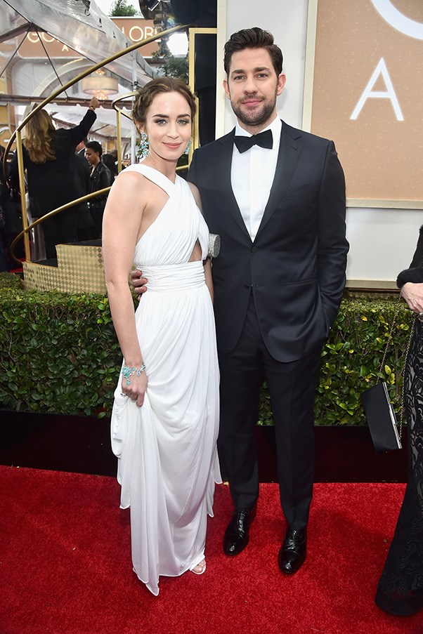 """<strong>Emily Blunt and John Krasinski</strong><br><br> If you haven't yet, please dedicate a portion of your day to reading all the times <a href=""""http://www.elle.com.au/news/celebrity-news/2016/8/cute-emily-blunt-and-john-krasinski/"""">John has gushed</a> over his (admittedly perfect) wife."""