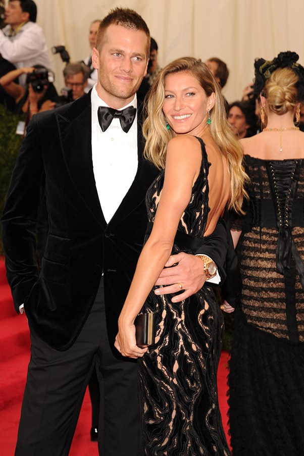 <strong>Gisele Bündchen and Tom Brady</strong> <br><br> The painfully good-looking duo have been together for almost a decade, and share two children.