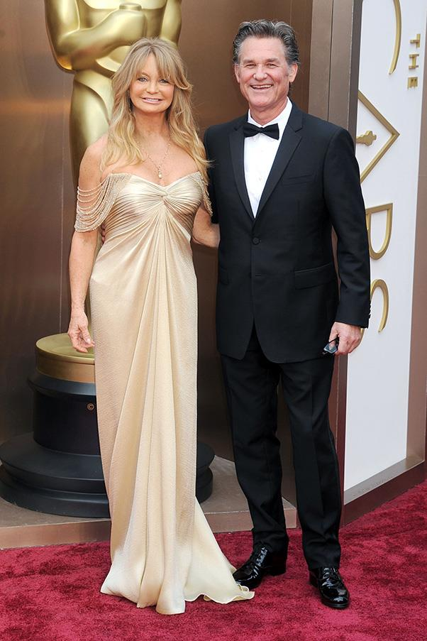 <strong>Goldie Hawn and Kurt Russell</strong><br><br> There are Hollywood success stories, then there's <strong>the</strong> Hollywood success story. After 33 years together Kurt and Goldie still look totally loved-up on the red carpet.