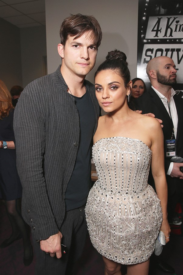 <strong>Ashton Kutcher and Mila Kunis</strong><br><br> How many people does this happen to? The first boy you kiss (while you're both on the set of the TV series that launches your long and successful careers), ends up being your husband. But you don't realise until you fall in love years later. I'll tell you how many people that's happened to: one. And that person is Mila Kunis.