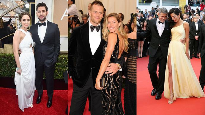 In the last week we've had the splits of two Hollywood power couples: Brad Pitt and Angelina Jolie, and Naomi Watts and Liev Schreiber. But don't fret! All hope is not lost and love is not dead. Instead focus on these 13 couples, who are the epitome of the Hollywood Success Story.