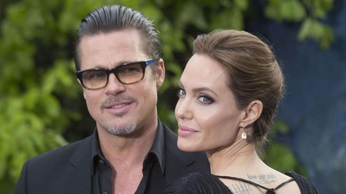 """<strong>Thank goodness for their 'ironclad' pre-nup</strong><br><br> <em>TMZ</em> reports that the couple won't be fighting about money or shared assets, and Brad and Angelina have an """"ironclad"""" pre-nuptial agreement that will protect their approx $655 million (AUD) joint estate. Although the pair own 12 properties between them, all of them were bought prior to them getting married, making it much easier to split the assets The real cause for concern? The looming custody battle. <a href=""""http://www.tmz.com/2016/09/26/brad-pitt-angelina-jolie-ironclad-prenup-divorce/""""></a>"""