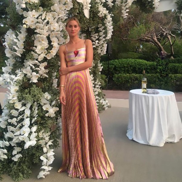 "<strong>The guests</strong><br><br> Alessandra Brawn<br><br> Instagram: <a href=""https://www.instagram.com/p/BKyXRCXAFlg/?taken-by=alessandrabrawn"">@alessandrabrawn</a>"
