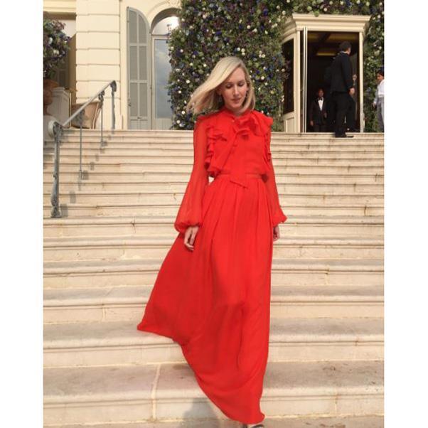 """<strong>The guests</strong><br><br> Jane Keltner de Valle<br><br> Instagram: <a href=""""https://www.instagram.com/p/BKyaItUDO2A/?taken-by=janekeltnerdev"""">@janekeltnerdev</a>"""