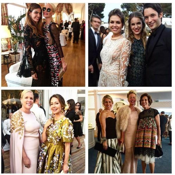 "<strong>The guests</strong><br><br> Including Poppy Delevingne and Bianca Brandolini <br><br> Instagram: <a href=""https://www.instagram.com/p/BKxyxvdjITj/?taken-by=carlossouza1311&hl=en"">@carlossouza1311</a>"
