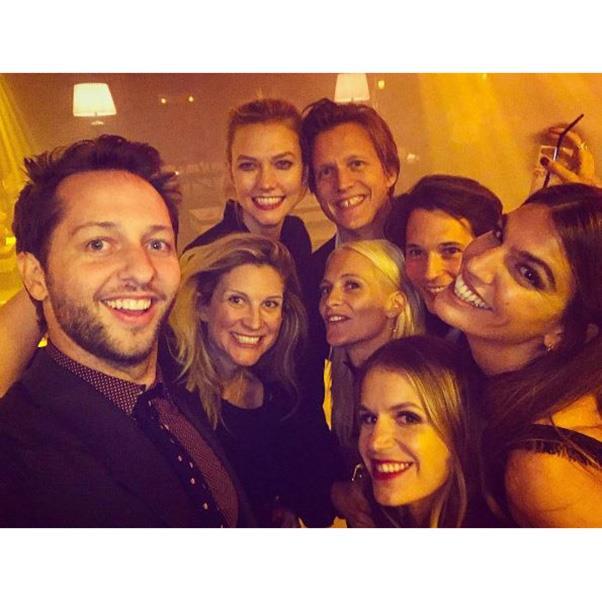 "<strong>The guests</strong><br><br> Including Derek Blasberg, Karlie Kloss, Poppy Delevingne and Bianca Brandolini<br><br> Instagram: <a href=""https://www.instagram.com/p/BKyp6lIAyOA/?taken-by=derekblasberg&hl=en"">@derekblasberg</a>"