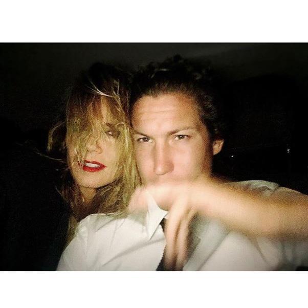 "<strong>The guests</strong><br><br> Heidi Klum and Vito Schnabel<br><br> Instagram: <a href=""https://www.instagram.com/p/BKy-PUuA1gv/?taken-by=heidiklum&hl=en"">heidiklum</a>"