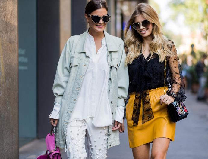 Street Style Milan Fashion Week spring 2017