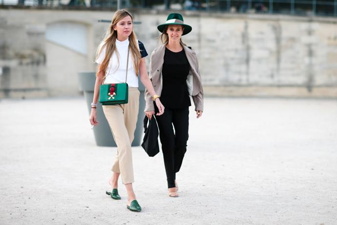 Here's the best style the streets have to offer this Paris fashion week.