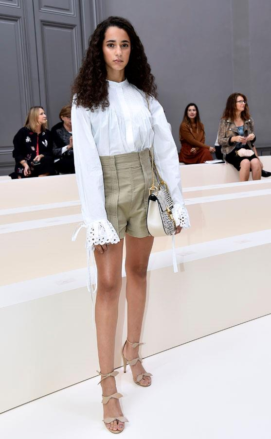 Iman Prez at Chloé