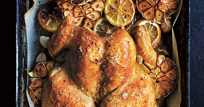 recipe residency donna hay quick butterflied roast chicken