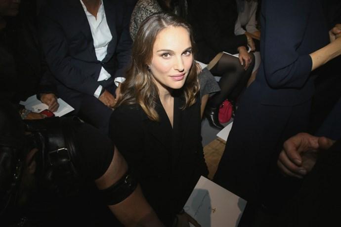 Natalie Portman at Dior.