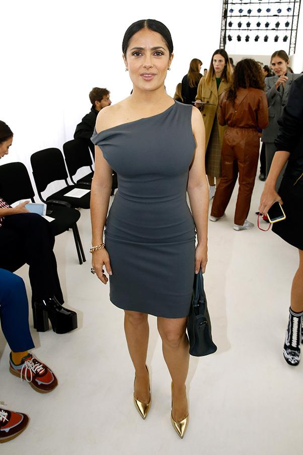 Salma Hayek at Balenciaga