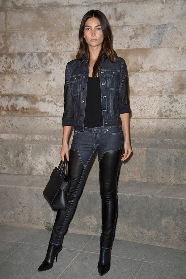 Lily Aldridge at Givenchy