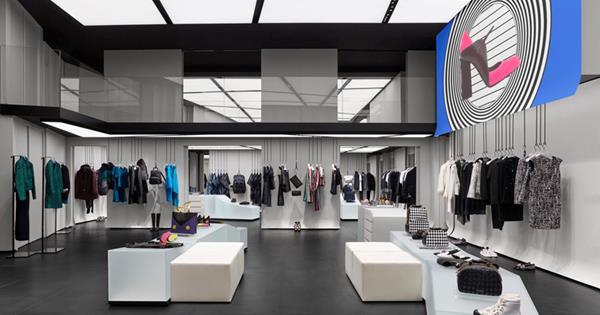 61085943bee8 Emporio Armani Opens First Paris Boutique   Harper s BAZAAR Australia