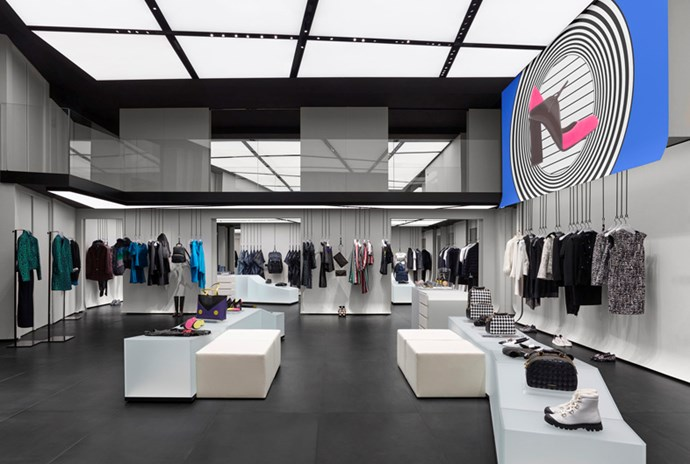 Giorgio Armani Paris boutique