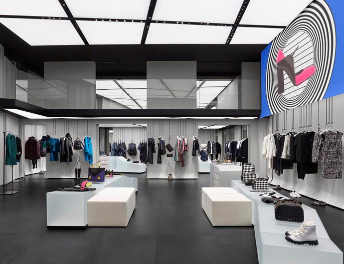 Giorgio Armani Paris boutique