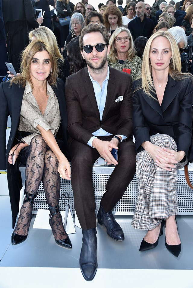Carine Roitfeld, Derek Blasberg and Lauren Santo Domingo