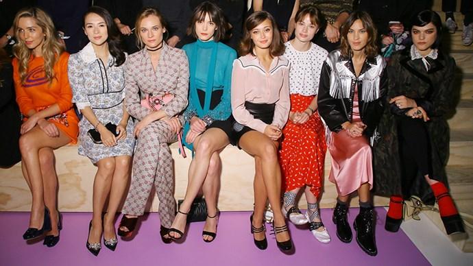 paris fashion week front row after party fashion month recap