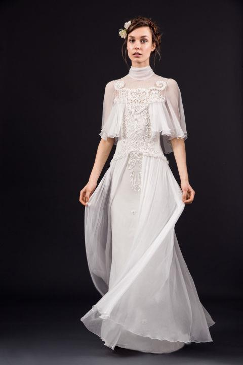 """<strong>TEMPERLEY</strong> <br><br> """"Rowena"""" gown, $4,850 <br><br> <a href=""""http://temperleylondon.com/"""">Temperleylondon.com</a>"""