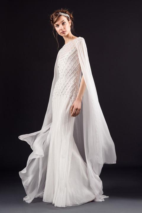 "<strong>TEMPERLEY</strong> <br><br> ""Hettie"" gown, $7,350 <br><br> <a href=""http://temperleylondon.com/"">Temperleylondon.com</a>"