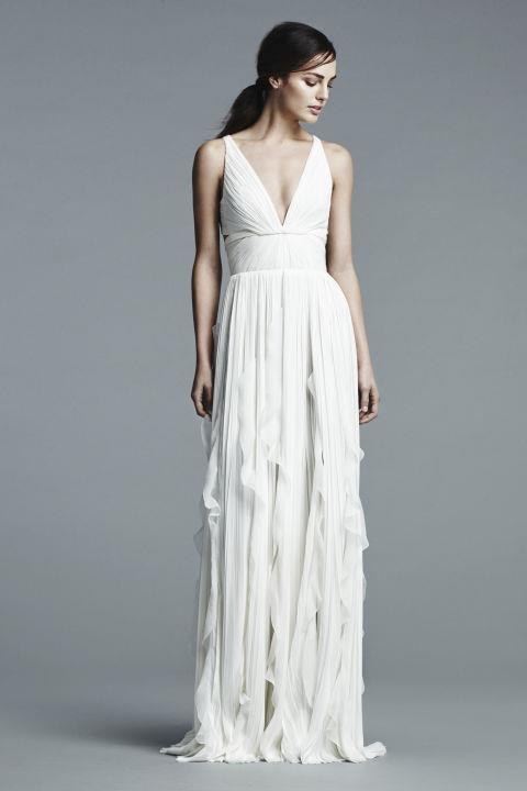 """<strong>J.MENDEL</strong> <br><br> """"Elle"""" gown, $5,200. <br><br> <a href=""""http://www.jmendel.com/"""">Jmendel.com</a>"""