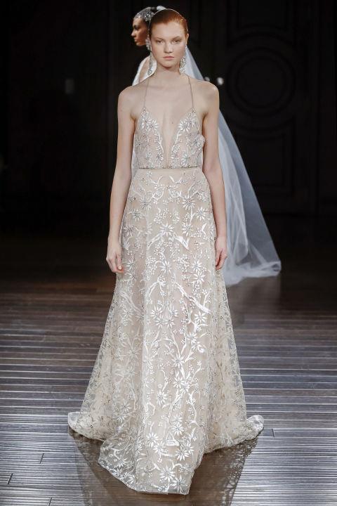 "<strong>NAEEM KHAN</strong> <br><br> ""St. Barths"" gown, $13,990. <br><br> <a href=""http://naeemkhan.com/"">Naeemhan.com</a>"