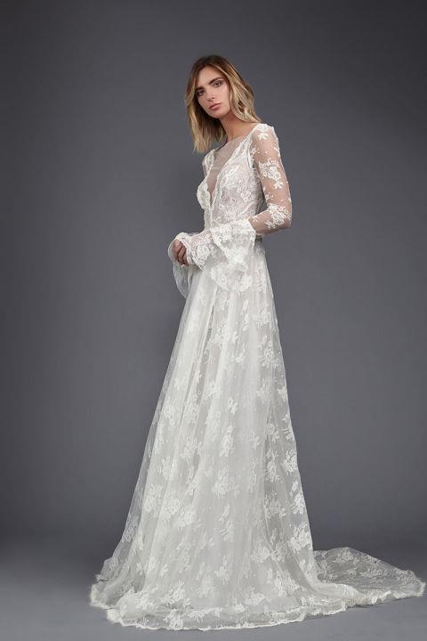 "<strong>VICTORIA KRIYAKEDES</strong> <br><Br> ""June"" gown, $4,950. <br><br> <a href=""http://www.victoriakyriakides.co.uk/"">Victoriakriyakedes.com</a>"