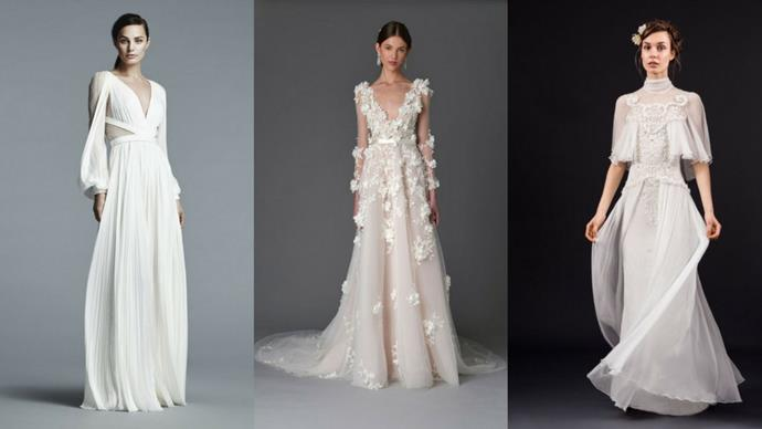 Whether you're in the market for a wedding dress or not, these stunning numbers are sure to have you swooning.