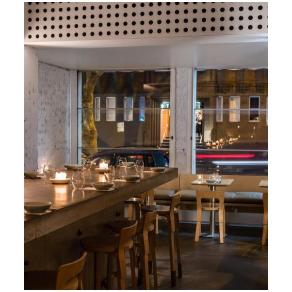 """<strong><a href=""""http://chochosan.com.au/"""">Cho Cho San</a></a></strong> <br><br> <strong>Location:</strong> Potts Point <br><br> With a window perfect for people watching, and a crisp modern interior, Cho Cho San is quickly become a local favourite. If you're in need of a Japanese fix, this is the go-to. <br><br> <a href=""""https://www.instagram.com/chochosansydney/"""">@chochosansydney</a>"""