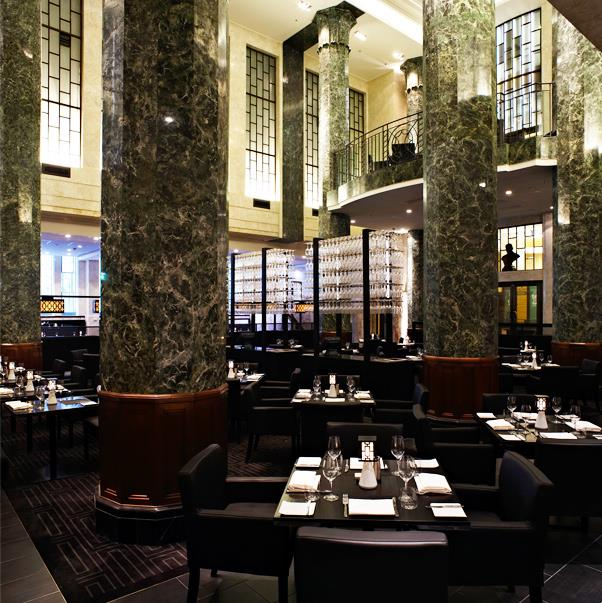 """<strong><a href=""""http://www.rockpool.com/rockpoolbarandgrillsydney/"""">Rockpool Bar & Grill</a></a></strong> <br><br> <strong>Location:</strong> CBD <br><br> With marble literally everywhere, Neil Perry's Rockpool is equally perfect for the design as well as the award-winning food. <br><br> <a href=""""https://www.instagram.com/rockpoolgroup/"""">@rockpoolgroup</a>"""