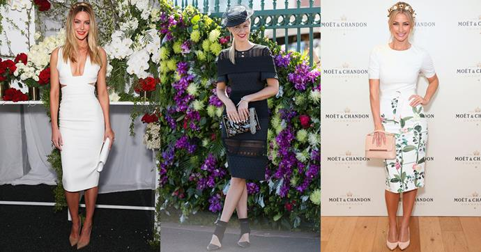 As spring racing season in Sydney and Melbourne is in full swing, we're tracking the best trends that have been gaining the trackside attention of Jennifer Hawkins, Anna Heinrich and more.