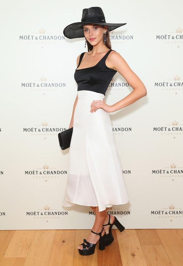 Georgia Fowler, Moët & Chandon Spring Champion Stakes Day