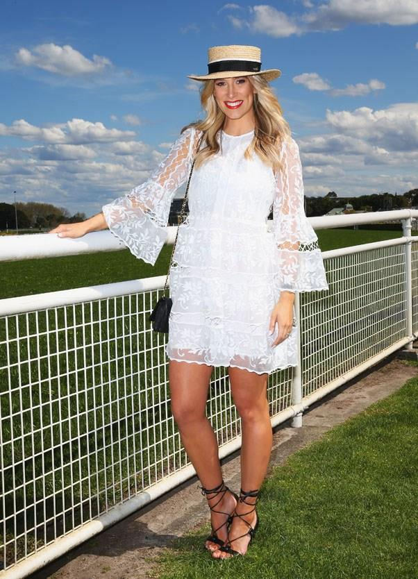 Phoebe Burgess, Colgate Optic White Stakes Day