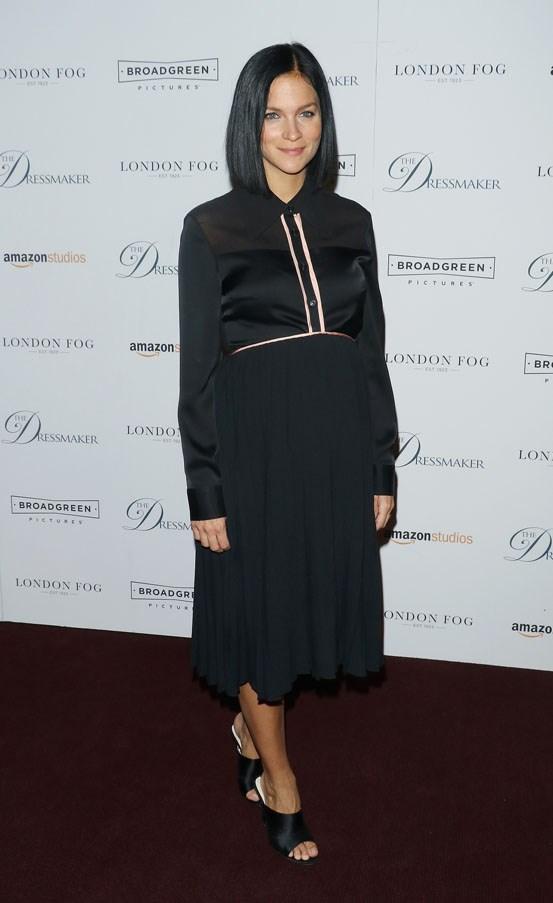 Leigh Lezark at a New York screening of <em>The Dressmaker</em> on September 16.