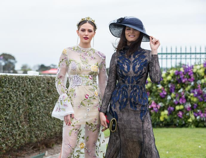 best dressed celebrities caulfield cup day 2016 melbourne spring racing