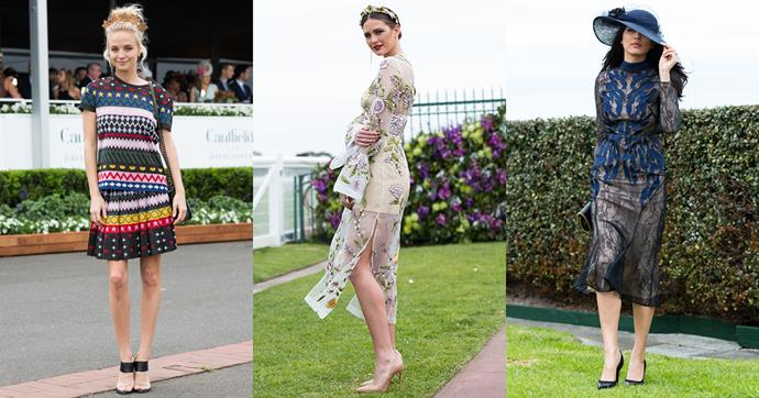 As the Melbourne spring racing season continues in its classically glamorous style, we're tracking the best dressed looks from the 2016 Caulfield Cup Day.