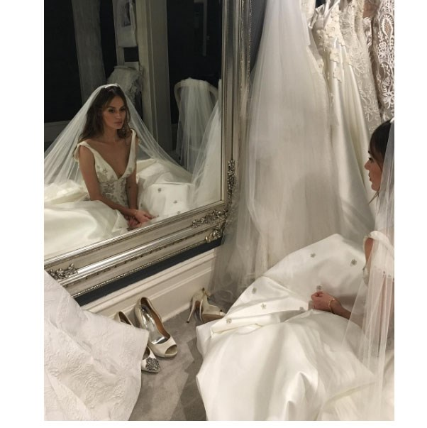 """<strong>The Dress Embargo</strong> <br><br> No pictures online until after the ceremony. Don't let the bridesmaids' Instagram pictures of you all in a taxi on the way to the ceremony be how your partner first sees your outfit. <br><br> Image: <a href=""""https://www.instagram.com/nictrunfio/?hl=en"""">@nictrunfio</a>"""