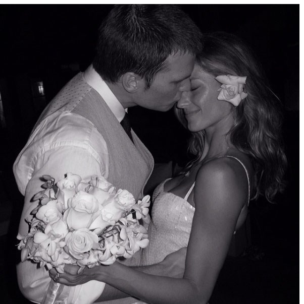 "<strong>The #tbt</strong> <br><br> You're allowed to do this twice: Once the week following the wedding and the next time on your year anniversary. Don't make everyone relive your day ever after. <br><br> Image: <a href=""https://www.instagram.com/gisele/?hl=en"">@gisele</a>"