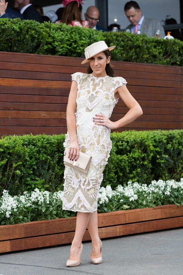 <strong>Boater Hats</strong> <br><br> The classically chic boater hat is officially back, and so far it has been a big hit trackside. While some have opted for the classic straw look, others like Bree Laughlin have dabbled in an all-black piece. <br><br> Lana Wilkinson, Caulfield Cup Day