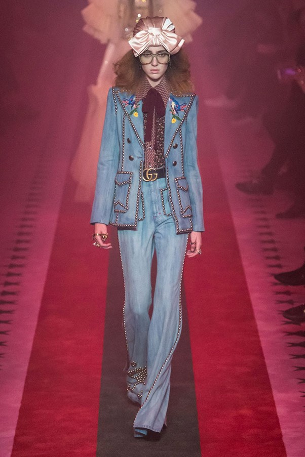 <strong>Blue Jean Queen</strong> <br><br> Gucci