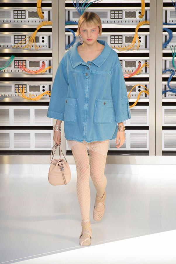 <strong>Blue Jean Queen</strong> <br><br> Chanel