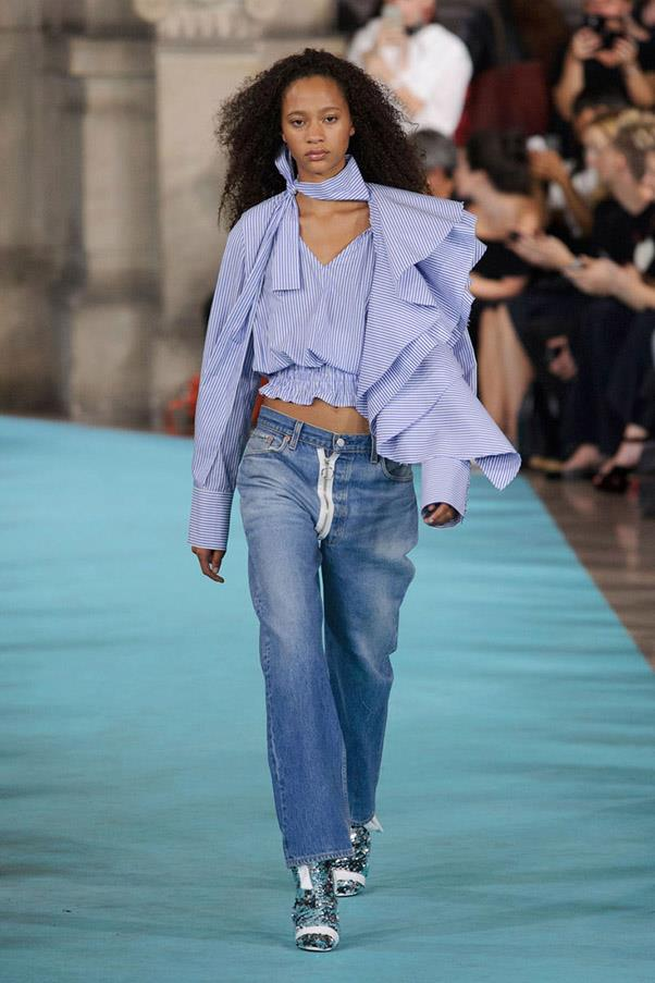 <strong>Blue Jean Queen</strong> <br><br> Off White