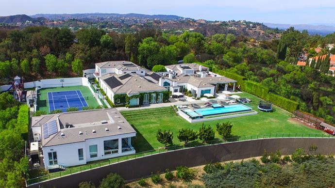 Take the tour with <em>BAZAAR</em> into Gwen Stefani's $45 million Beverly Hills estate.